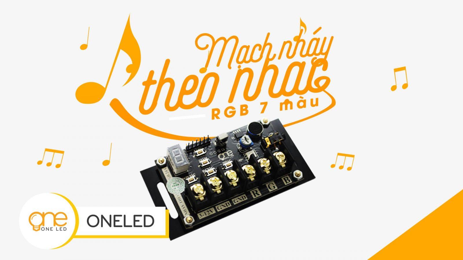 mach one led 7 mau rgb ntn